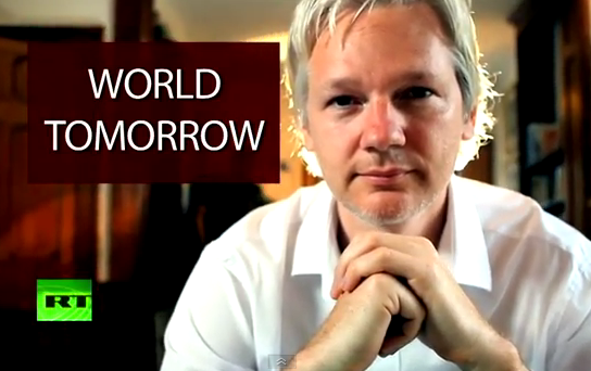 assange worldtomorrow