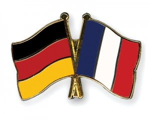 Germany-France flags