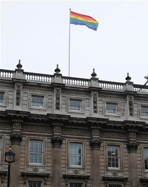 gay-flag british government