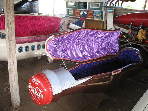 coffin coca-cola