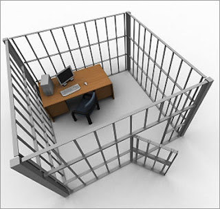 jail office cubicle