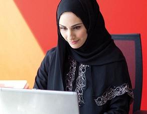 saudi-woman-computer
