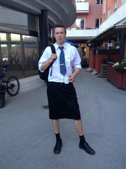 Sweden Men in Skirts