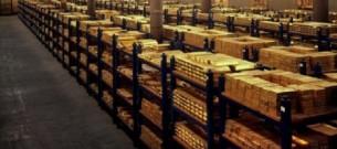 gold bars bank