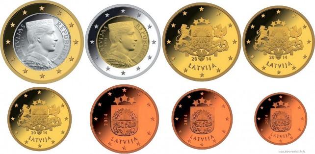 latvian-euro-coins