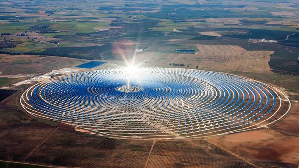 spain solar panel