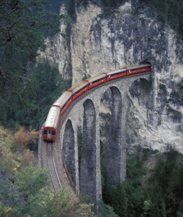 train-on-rock-bridge-switzerland