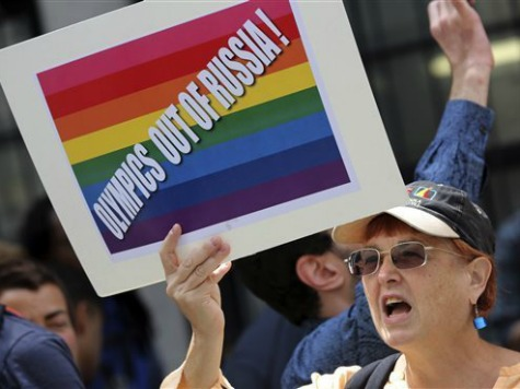Russia enforcing anti-gay laws sized