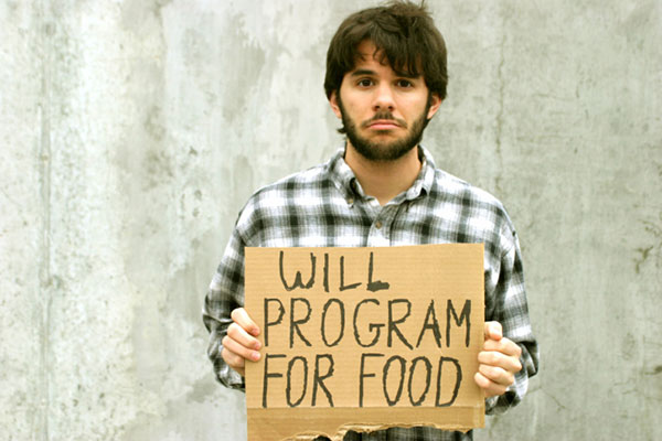 will program for food