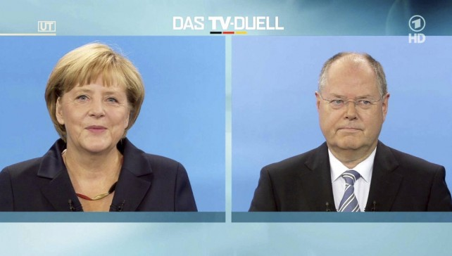 Germany Elections TV Confrontation