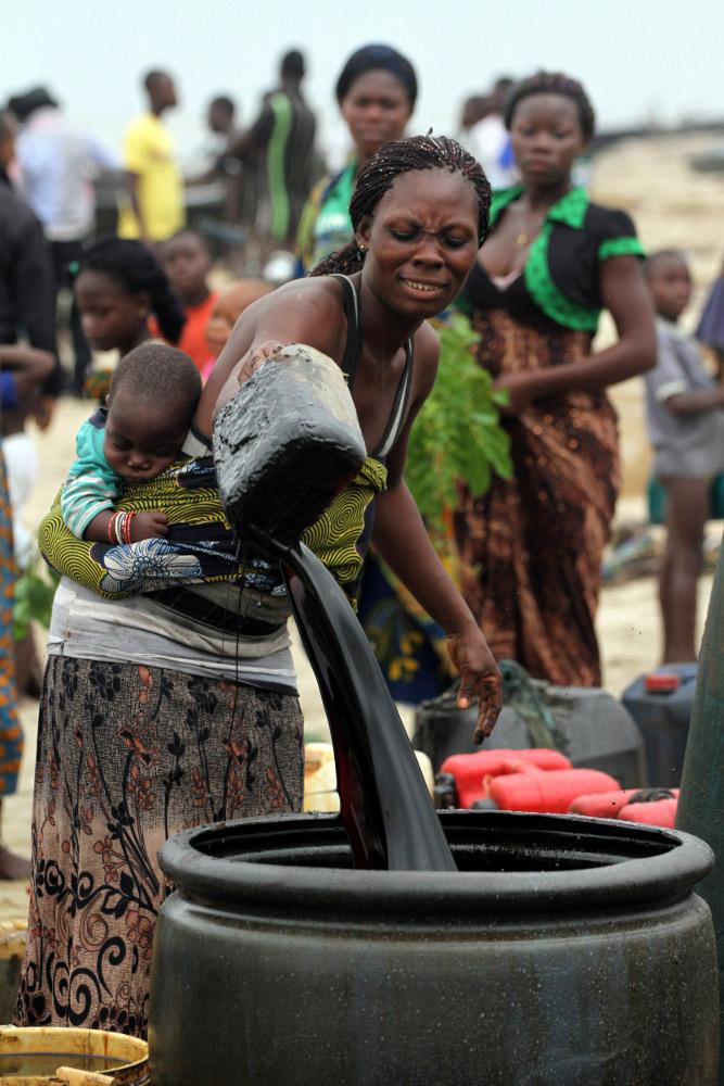 nigeria oil pollution