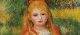 Renoir girl with flowers 2