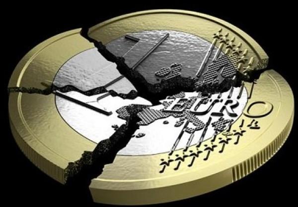 euro coin broken