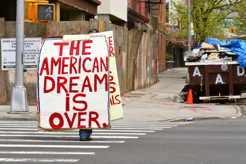 End-Of-The-American-Dream