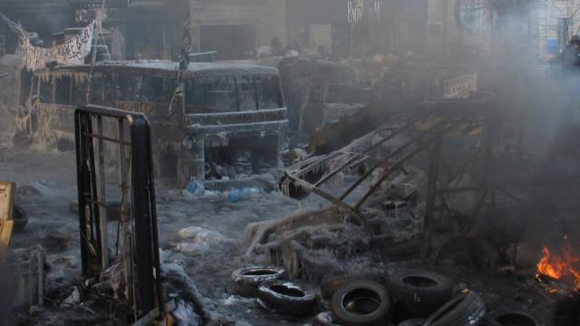 ukrain riots