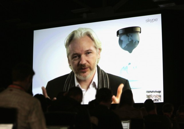 assange austin conference