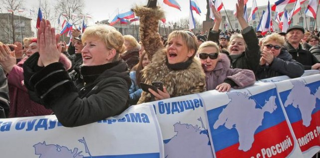 crimea demonstration